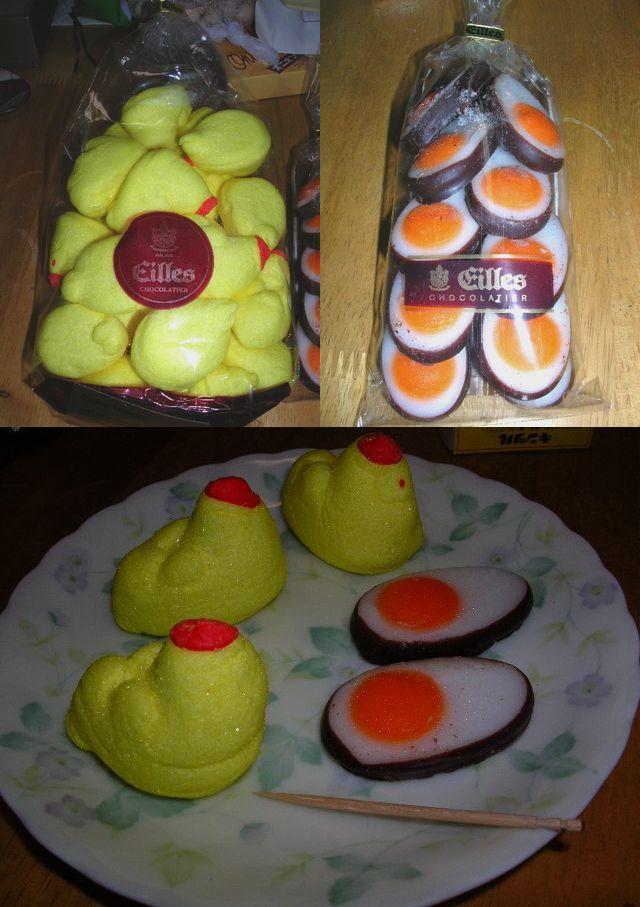 イースターのお菓子