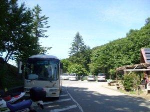 上白川峠 バス