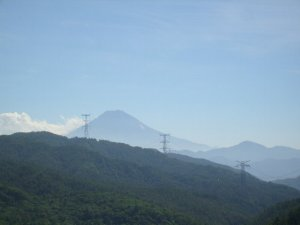富士山 上日川ダム堰堤