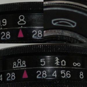 レンズ距離環のアイコン