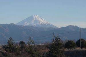 富士山:中央道双葉SAから